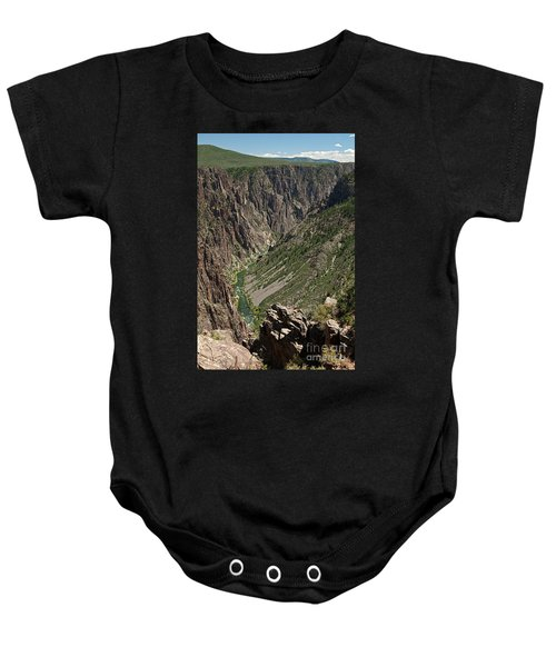 Pulpit Rock Overlook Black Canyon Of The Gunnison Baby Onesie