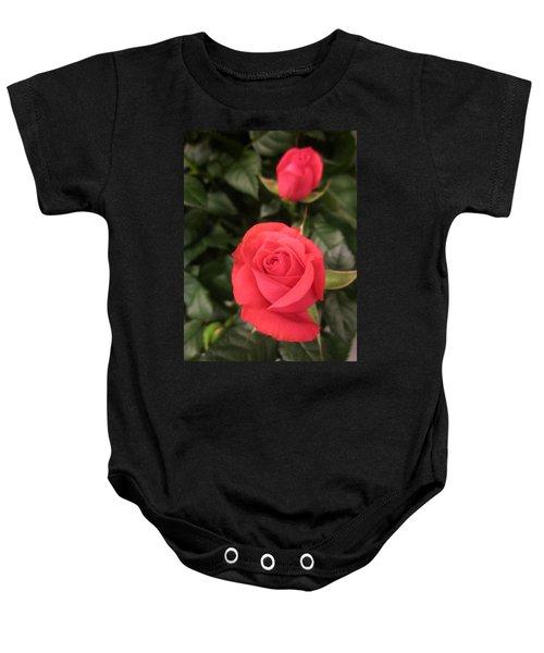 Roses In Red Baby Onesie