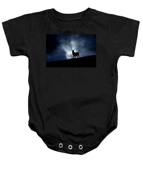 Stag Silhouette Baby Onesie