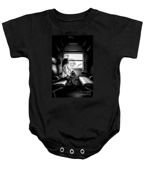 Take A Litte Trip Baby Onesie