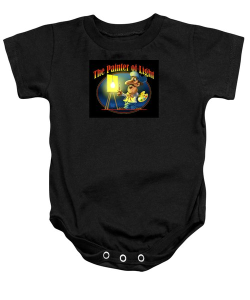 The Painter Of Light Baby Onesie