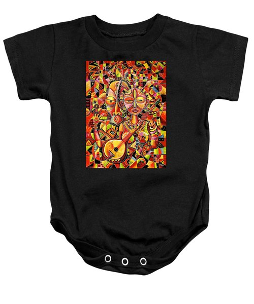 Together In Love Baby Onesie