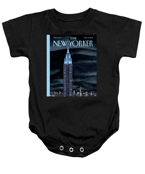 New Yorker November 19th, 2012 Baby Onesie