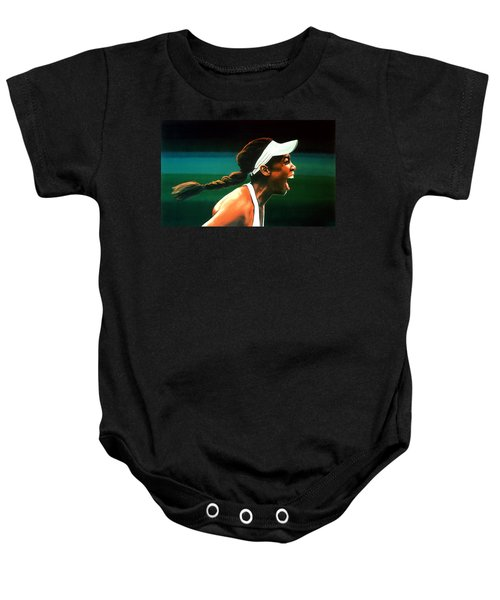 Venus Williams Baby Onesie by Paul Meijering