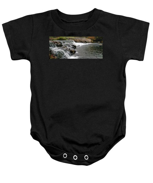 Spring Creek Waterfall Baby Onesie