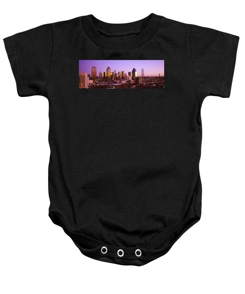 Dallas, Texas, Usa Baby Onesie by Panoramic Images