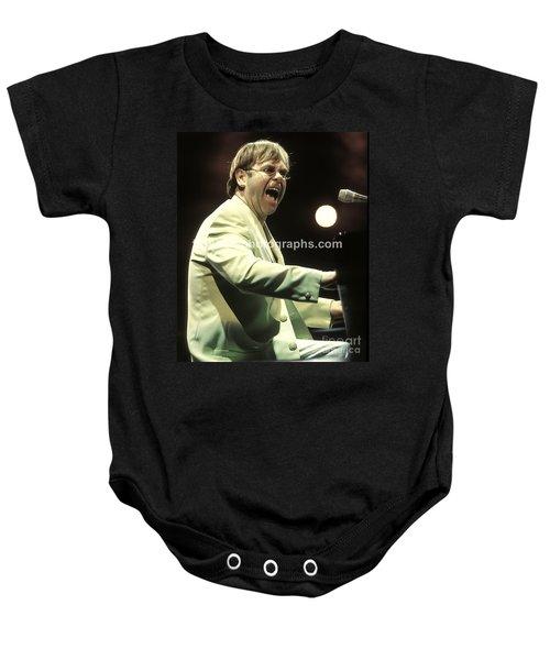 Elton John Baby Onesie by Concert Photos