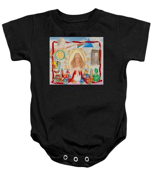 Invocation Of The Spectrum Baby Onesie
