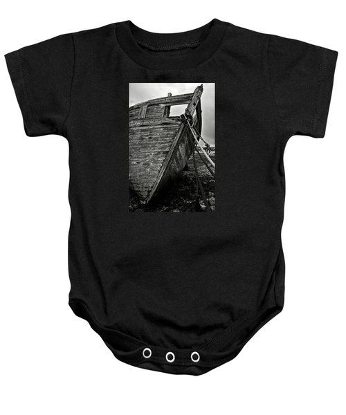 Old Abandoned Ship Baby Onesie