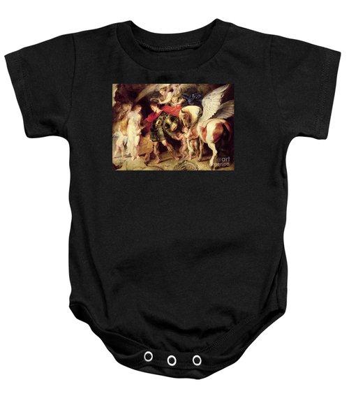 Perseus Liberating Andromeda Baby Onesie