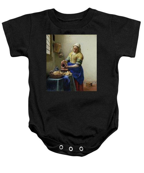 The Milkmaid  Baby Onesie