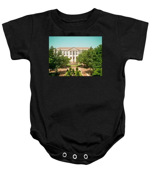 The Old Main - University Of Arkansas Baby Onesie