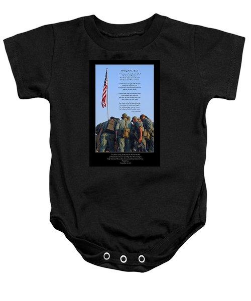 Veterans Remember Baby Onesie