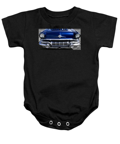 '57 Pontiac Safari Starchief Baby Onesie