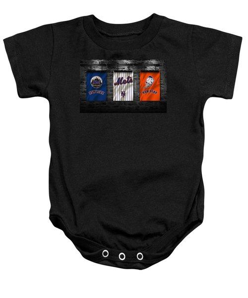 New York Mets Baby Onesie