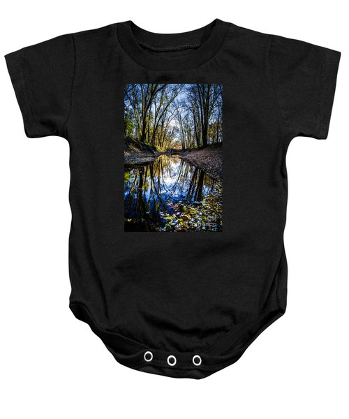 Treasure Of Leaves Baby Onesie