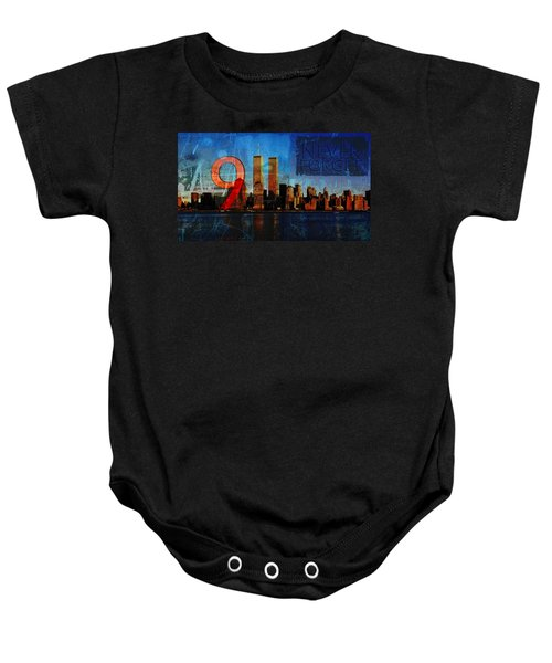 911 Never Forget Baby Onesie