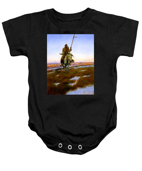 A Cree Indian Baby Onesie