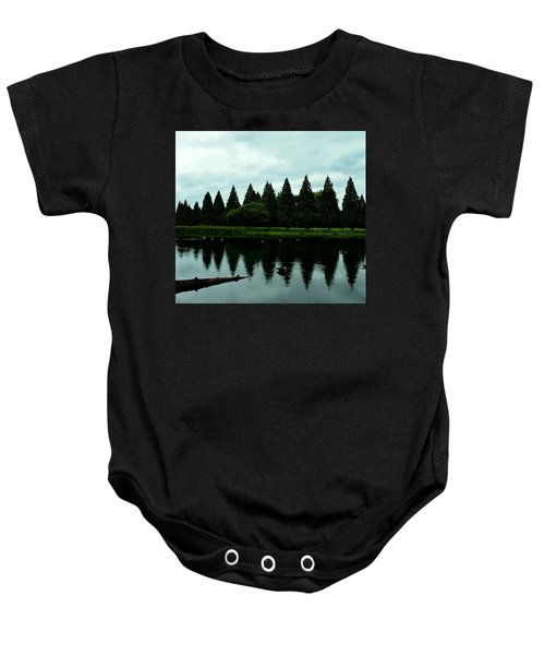 A Gaggle Of Pines Baby Onesie