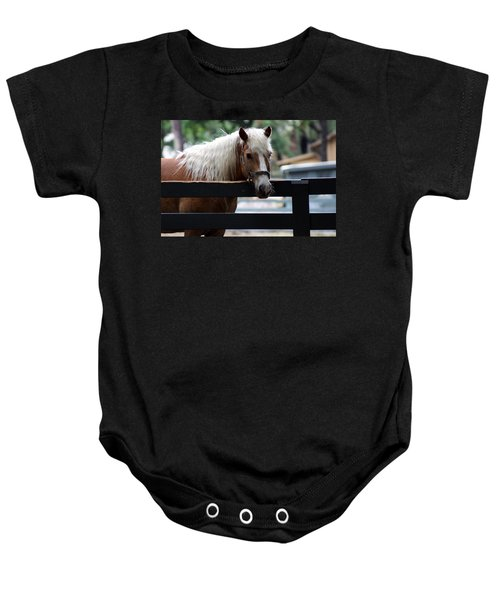 A Hilton Head Island Horse Baby Onesie
