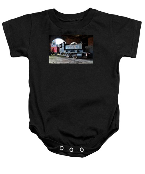 A Locomotive At The Colliery Baby Onesie