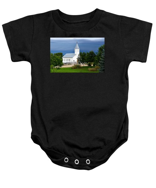 A Moment Of Peace Baby Onesie