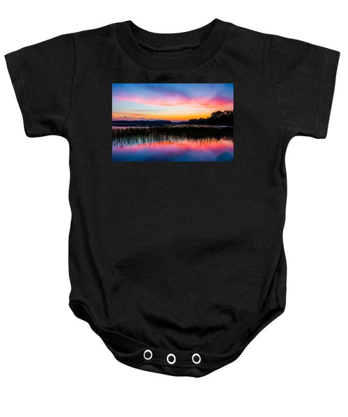 A Palette Of Colors Baby Onesie