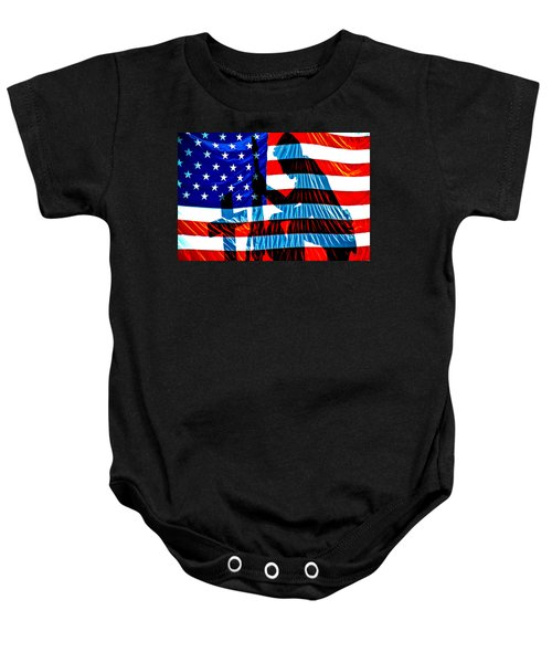 A Time To Remember Baby Onesie by Bob Orsillo