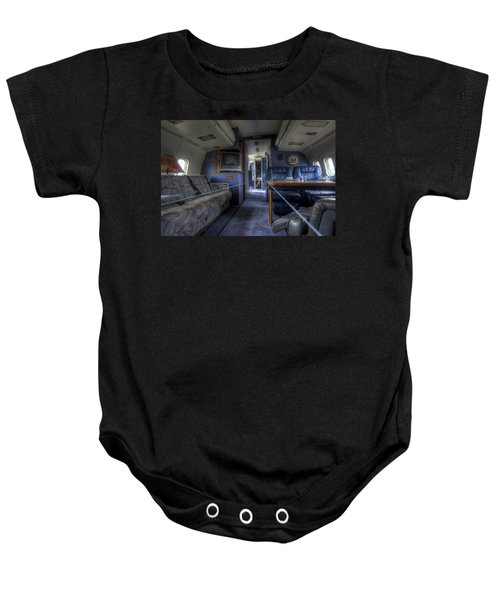Aboard Air Force Two Baby Onesie