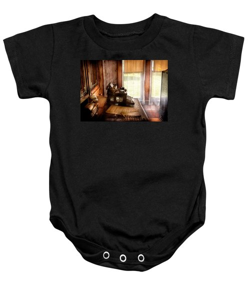 Accountant - My Little Office  Baby Onesie