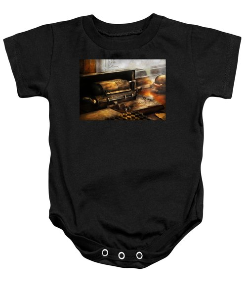 Accountant - The Adding Machine Baby Onesie