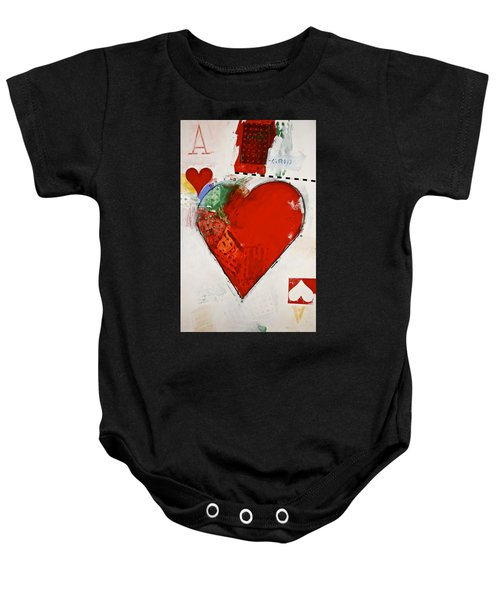 Ace Of Hearts 8-52 Baby Onesie