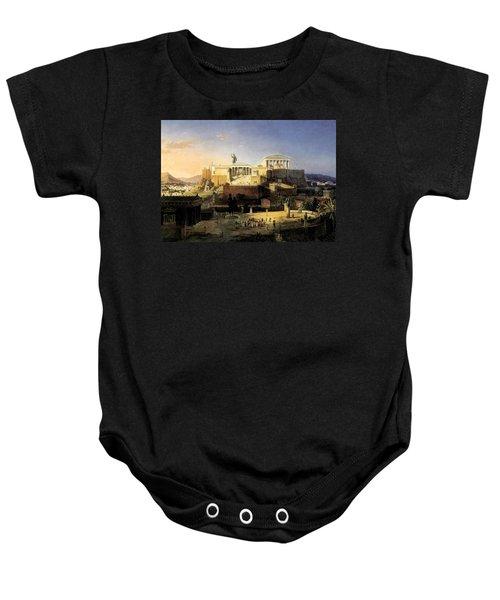 Acropolis Of Athens Baby Onesie