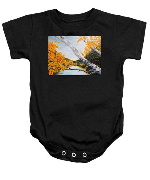 Adirondacks New York Baby Onesie