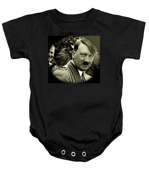 Adolf Hitler And A Feathered Friend C.1941-2008 Baby Onesie