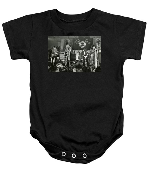 Aerosmith - Aerosmith Tour 1973 Baby Onesie by Epic Rights