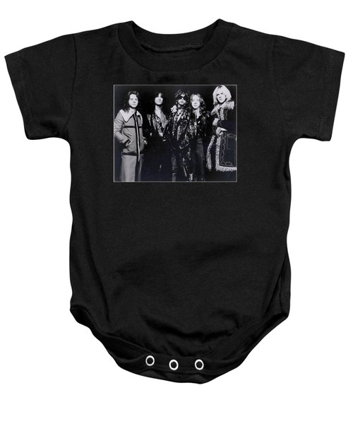 Aerosmith - America's Greatest Rock N Roll Band Baby Onesie by Epic Rights