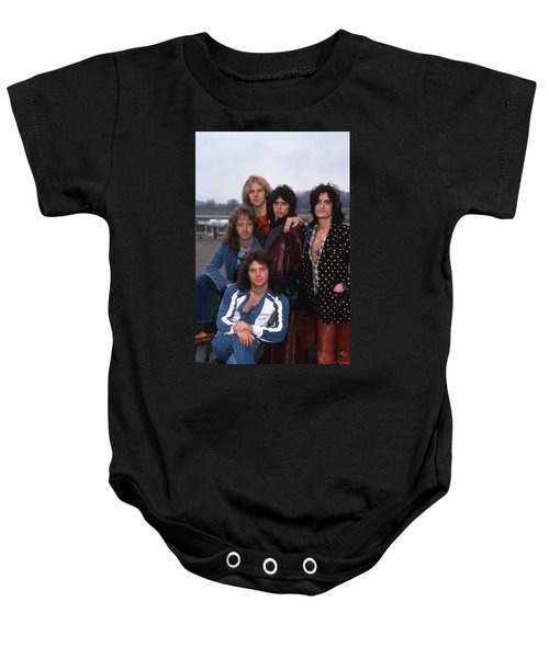 Aerosmith - Terre Haute 1977 Baby Onesie by Epic Rights