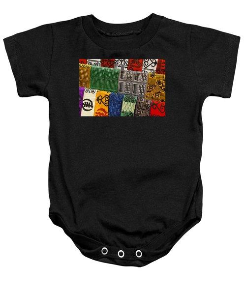 African Textiles Baby Onesie