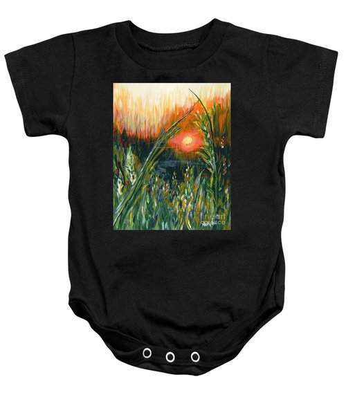 After The Fire Baby Onesie