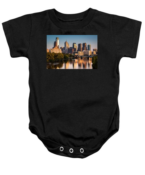 Afternoon In Philly Baby Onesie