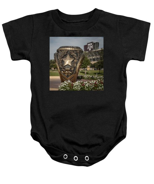 Aggie Ring Baby Onesie