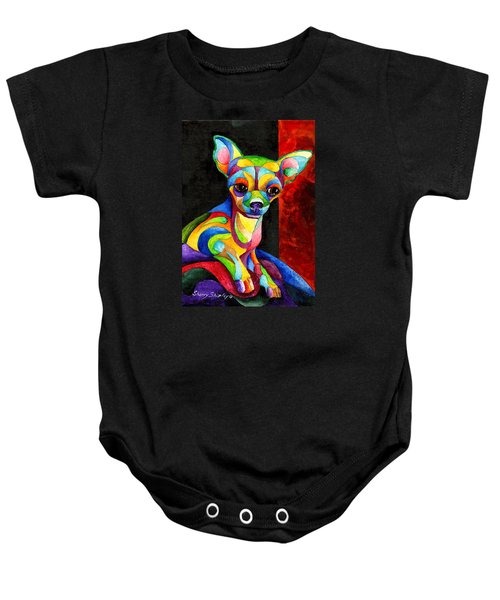 Ah Chihuahua Baby Onesie