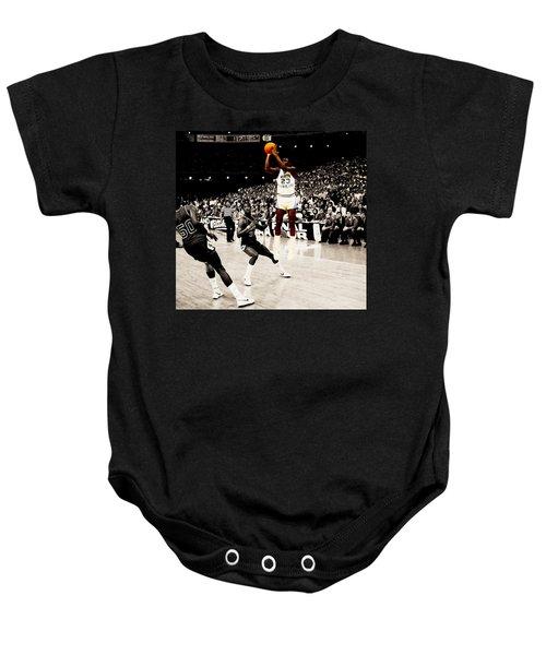 Air Jordan Unc Last Shot Baby Onesie