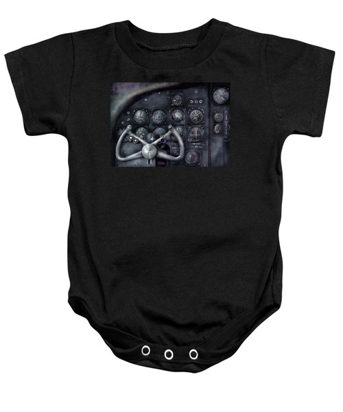 Air - The Cockpit Baby Onesie