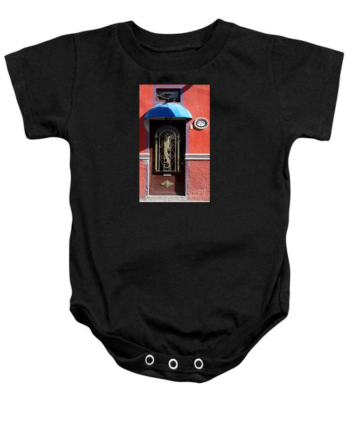 Ajijic Door #8 Baby Onesie