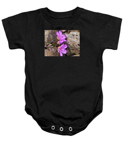 Alaskan Wildflower Baby Onesie