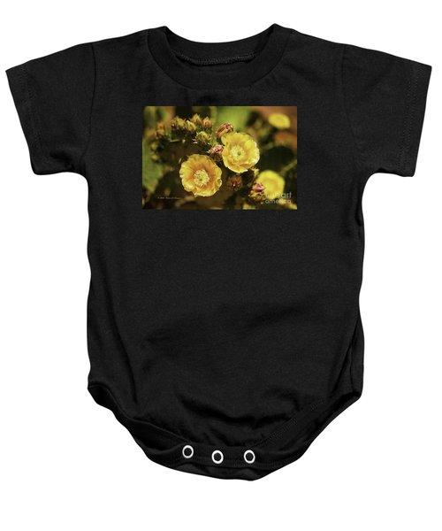 'albispina' Cactus #3 Baby Onesie