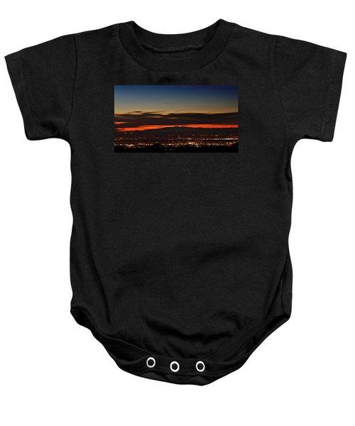 Albuquerque Sunset Baby Onesie