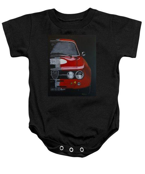 Alfa Romeo Gtv  Baby Onesie